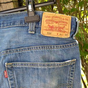 Levi's 559 relaxed fit straight leg jeans
